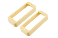 PC-0747-028 Small Humbucking Pickup Rings Cream