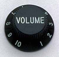 PK-0154-023 Set of 2 Black Volume Knobs