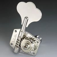 TK-0791-001 Schaller 4 in Line Nickel Bass Keys