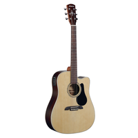 RD27CE Regent 27 Series Dreadnought Electric, Natural Finish W/bag