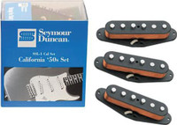 Seymour Duncan California 50s Single Coil Set SSL-1 Black