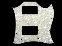 PG-9803-055 Large White Pearloid Pickguard for Gibson® SG®