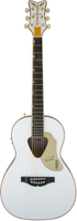 G5021WPE Rancher™ Penguin™ Parlor Acoustic/Electric, Fishman® Pickup System, White