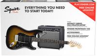 Fender Squier Affinity Series Strat Pack HSS - Sunburst