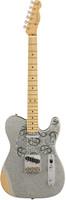 Fender Brad Paisley Road Worn Telecaster - Silver Sparkle