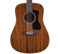 Guild D-125-12 Solid Mahogany Acoustic Guitar - 12 String, w/ Hardshell Case