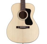 Guild F-130 Acoustic Guitar - Mahogany Orchestra w/ Case. Natural