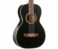 Art & Lutherie Ami Cedar Acoustic Guitar, - Black
