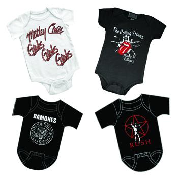 Rock N Roll Infant Body Suits | Rocker Rags