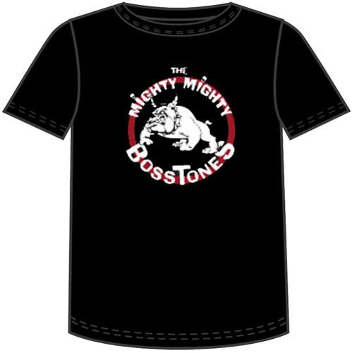 Mighty Mighty Bosstones Bulldog Logo Men's Black T-shirt