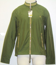 Original Penguin by Munsingwear Ratner Green Windbreaker Jacket