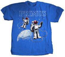 Primus Astronauts Logo Men's Blue T-shirt.