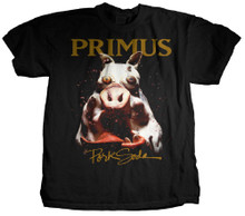 Primus Pork Soda Album Cover Artwork Men's Black T-shirt