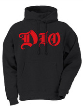 Dio Holy Diver Album Cover Art with Pullover Hoodie Sweatshirt - Front