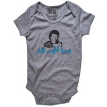 Lionel Richie All Night Long Song Title Baby Onesie One Piece Infant Romper Suit