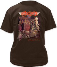 Aerosmith Toys in the Attic Album Cover Artwork Men's Black T-shirt