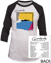 Genesis Abacab World Tour 1981 Baseball Jersey T-shirt