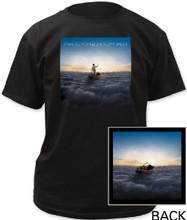 Pink Floyd The Endless River Album Cover Artwork Men's Black T-shirt