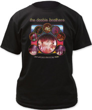 The Doobie Brothers What Were Once Vices are Now Habits Album Cover Artwork Men's Black T-shirt