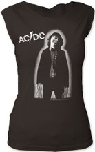 AC/DC Powerage Album Cover Artwork Women's Vintage Sleeveless T-shirt