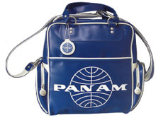 Pan Am Originals 70s Original Travel Bag With Pan Am Airlines Classic Logo - Front