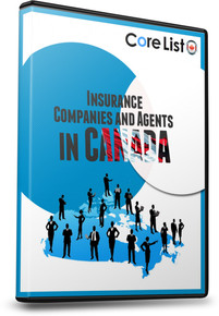 List of Insurance Companies Database - Canada includes Brokers and Agents
