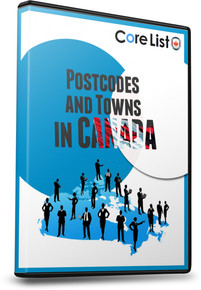 List of Postcodes and Towns Database - Canada