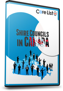 List of Shire Councils Database - Canada