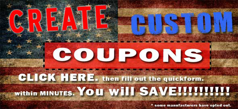 Custom Coupon Codes