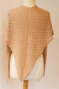 Silk Camel Rain Shawl (99-010)