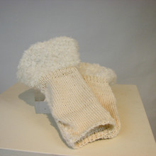 Fingerless Glove knitting kit by Sanjo Silk