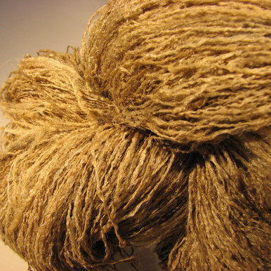 100% Tussah Silk Crinkle Yarn by Sanjo Silk