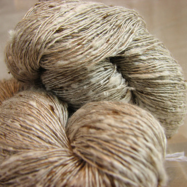 Silk Noil Fleck Yarn by Sanjo Silk