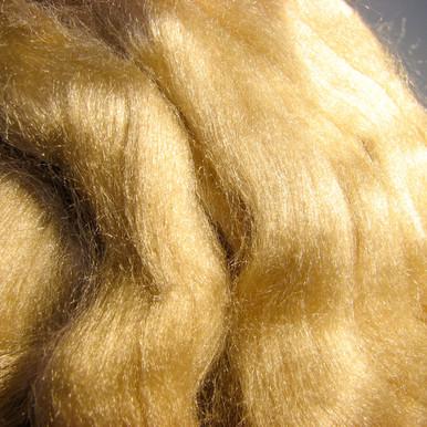 100% Muga Silk Spinning Fibre/Fiber by Sanjo Silk