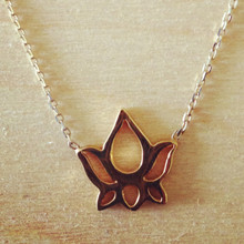 Lotus enlightenment necklace