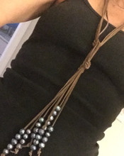 Boho Pearl Necklace
