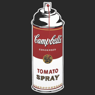 Banksy - Tomato Spray Tee