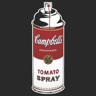 Banksy - Tomato Spray Tee
