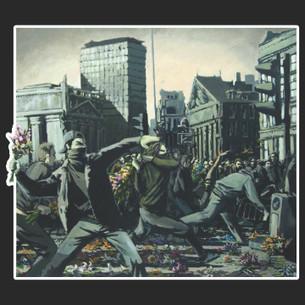Banksy - Flower Molotov Tee