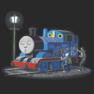Banksy - thomas Train Tee