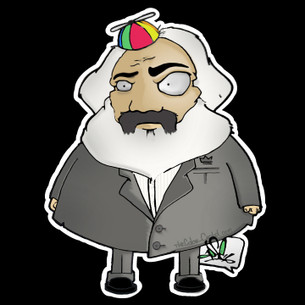 """Karl Marx"" by Apse of The Color Cartel"