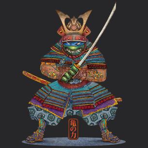 """Samurai Turtle"" by Chet Phillips."