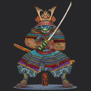 """Samurai Turtle"" by Chet Phillips."