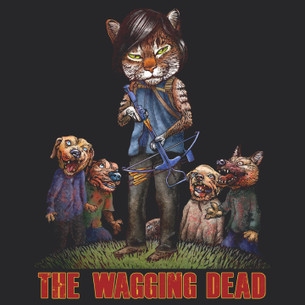 """The Wagging Dead"" by Chet Phillips."