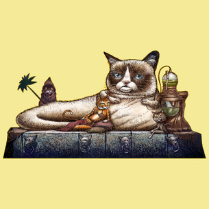"""Grumpy the Hutt"" by Chet Phillips."