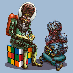 """Big Brain"" by Chet Phillips."