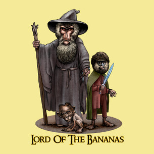 """Lord of the Bananas"" by Chet Phillips."