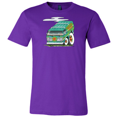 """The Mystery Machine"" on Team Purple, on Unisex Tee."