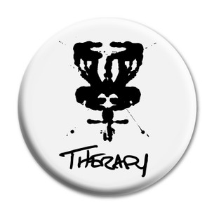 """Therapy DISCgolf"" 2.25"" Mylar Button"