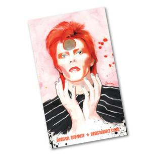 """""""Bowie"""" 3"""" x 5"""" Sticker"""